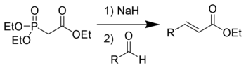 The Horner-Wadsworth-Emmons reaction